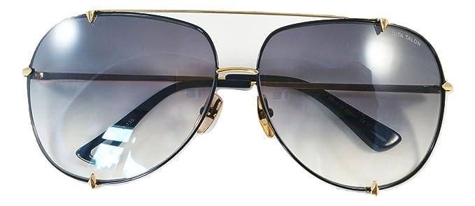 Dita Talon Aviator 23007 Gafas de sol en montura dorada y ...