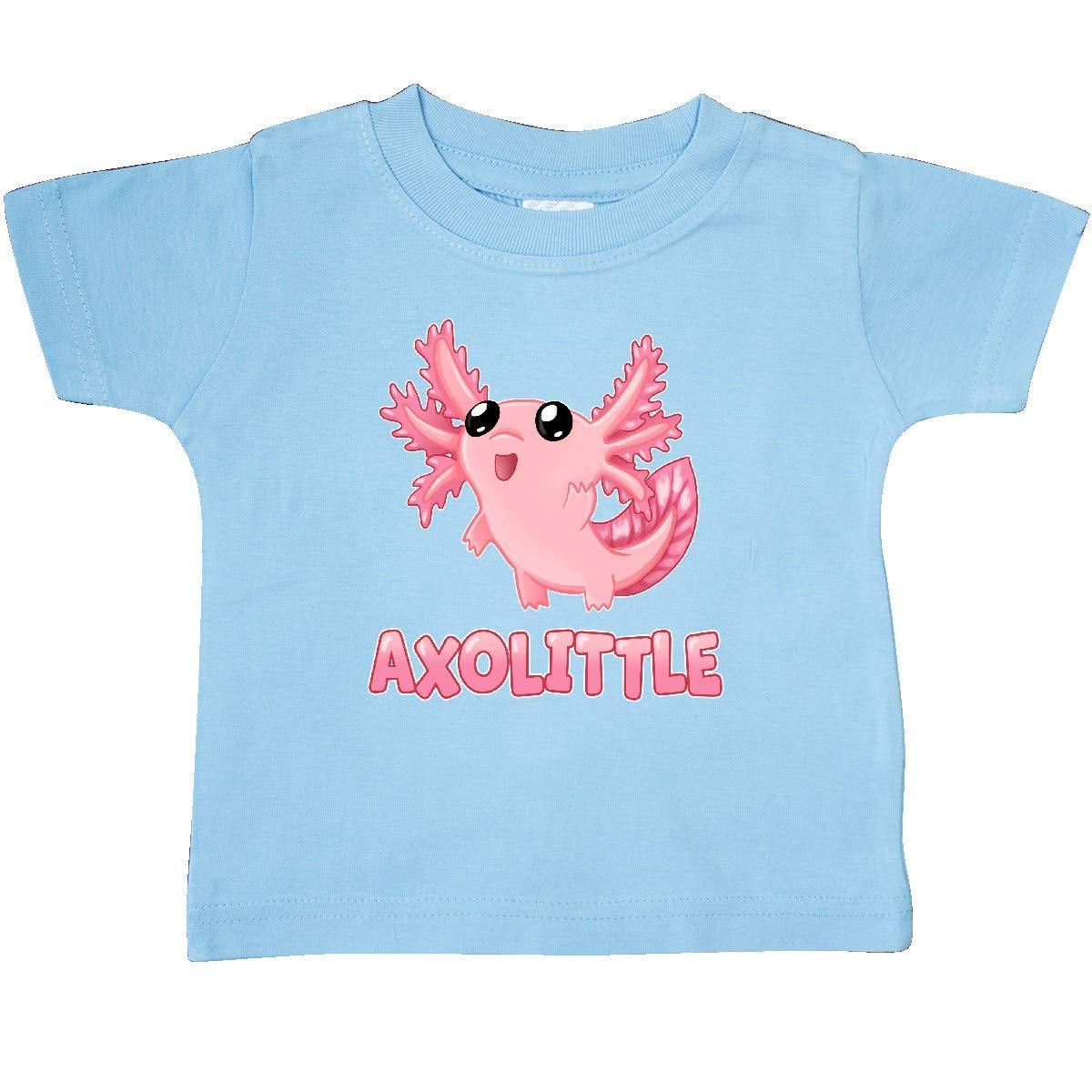 Cute Baby Axolotl Baby T-Shirt inktastic Axolittle