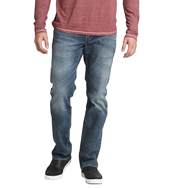 Silver Jeans Co Mens Long Sleeve Heather Henley
