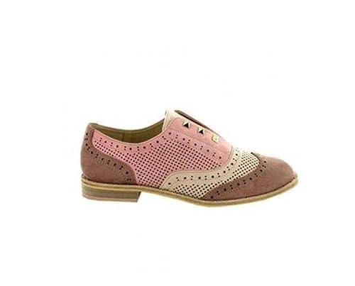 MENBUR Cairate 09586 Rosa francesine Zapatos Mocasines Moda Mujer: Amazon.es: Zapatos y complementos