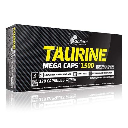 2 x Olimp Taurine 1500, 120 Mega Caps (2er Pack)