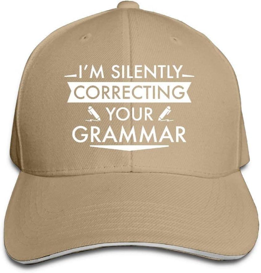 Estoy corrigiendo Silenciosamente su Gorra de gramática Gorra de ...
