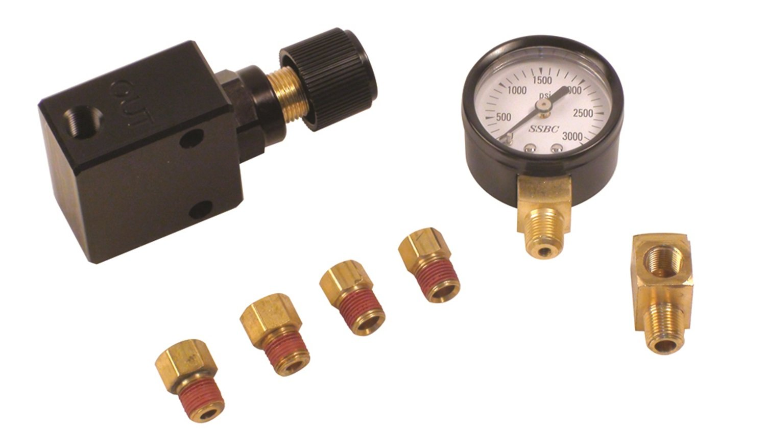 SSBC A0707E Adjustable Proportioning Valve Stainless Steel Brakes