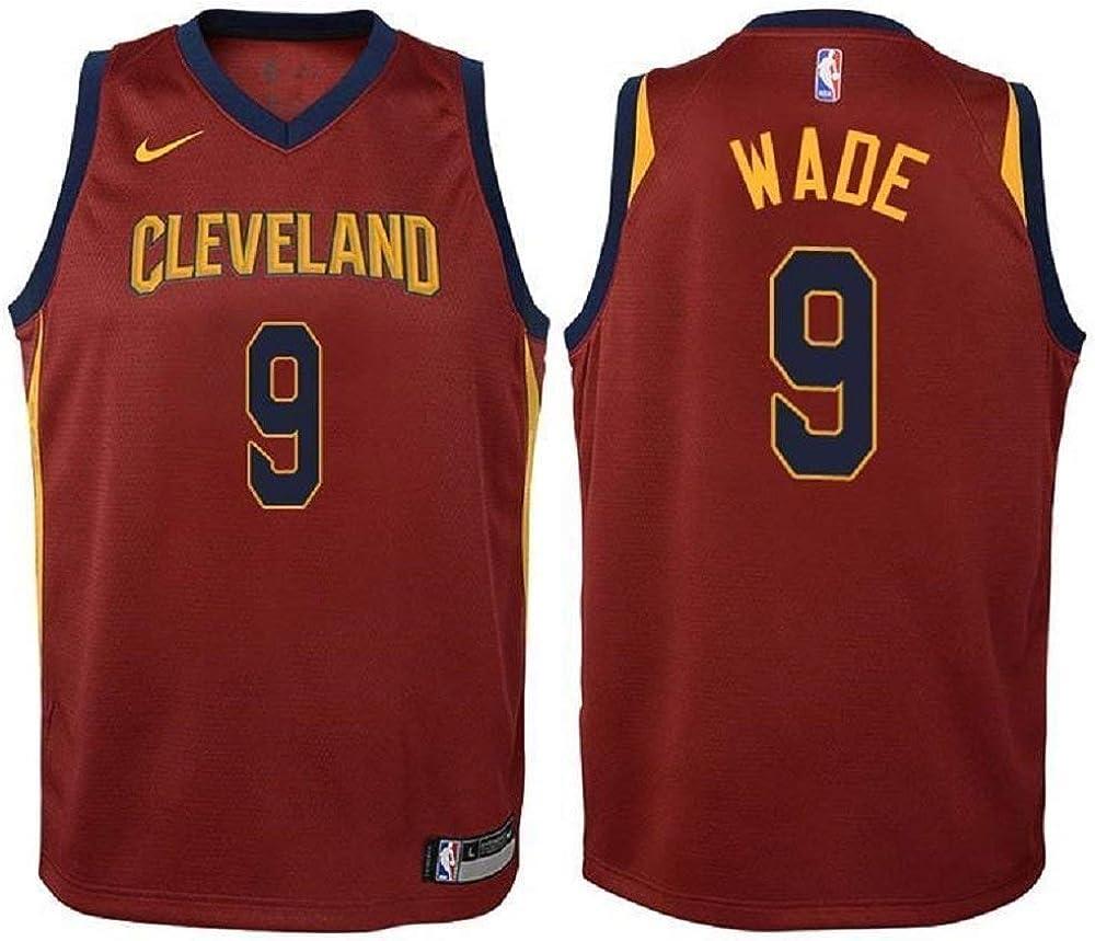 Nike Dwyane Wade Cleveland Cavaliers NBA Youth Burgundy Road