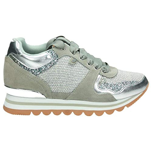 Gioseppo 43400 - Zapatillas Bajas Mujer Gris Talla 39: Amazon.es: Zapatos y complementos