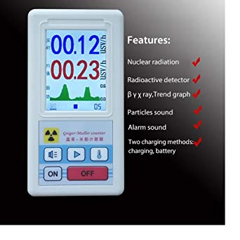 Hengyuanyi - Medidor de dosis personal para detector de radiofrecuencia nuclear, beta gamma, detector