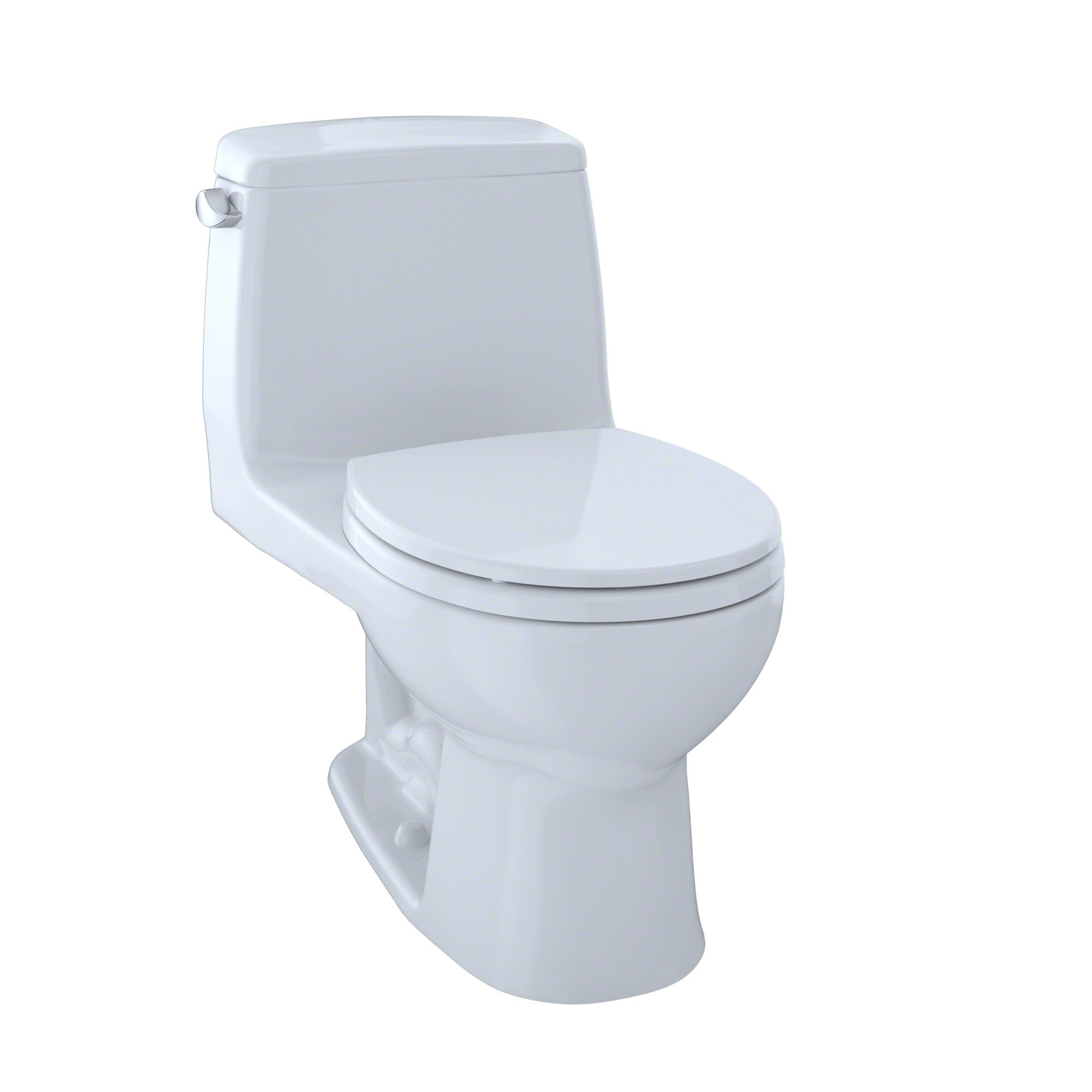 TOTO MS853113#01 Ultimate Round One Piece Toilet, Cotton White by TOTO