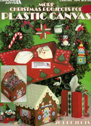 Leaflet Canvas - More Christmas Projects for Plastic Canvas (Leaflet 194)