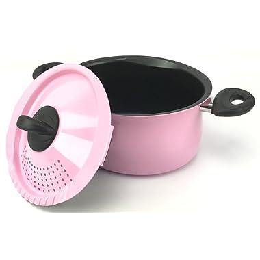 Bialetti 5 Quart Pasta Pot, Pink