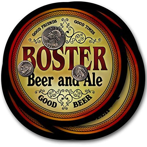 Bosterビール& Ale – 4パックドリンクコースター   B003QX6DUY