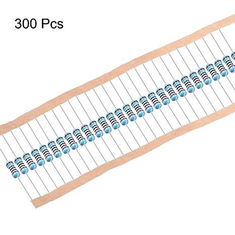 5 X 100K ohm 1W Metal Film Resistor 100K 1 Watt