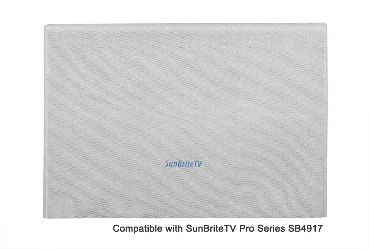 Sunbrite TV SB-DC461NA Polypropylene Premium Dust Cover for 46'' / 47'' / 49'' Outdoor TV by SunBriteTV