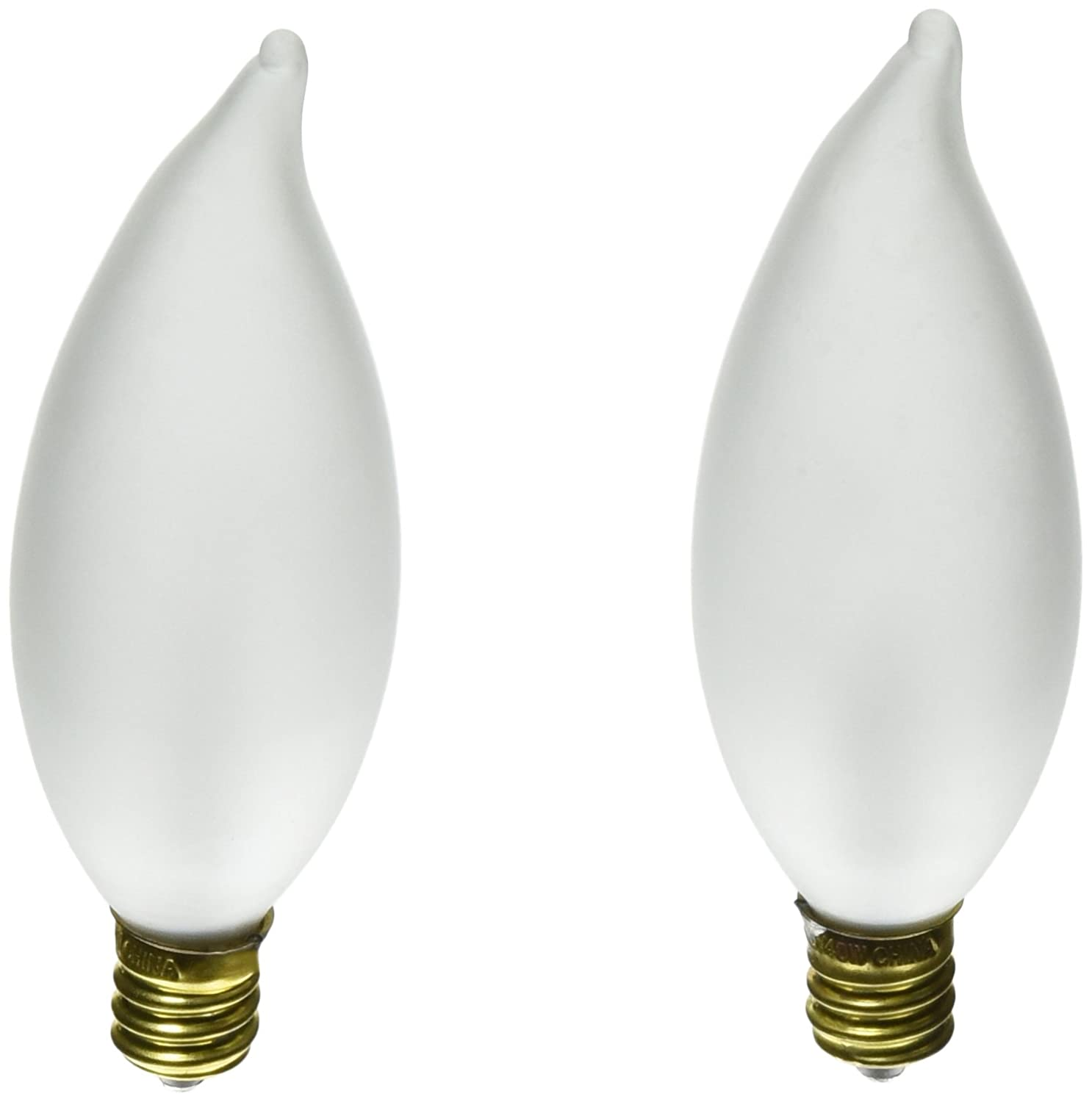 Frosted Light Bulbs >> Satco Products S3779 40ca9 5 Candelabra Base Frosted Light Bulb