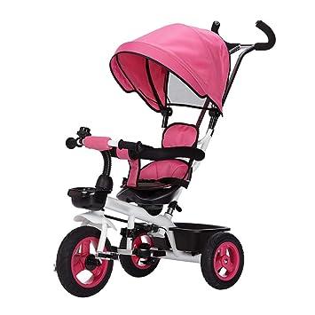 Qi Tai- Carrito de bebé Bicicleta de Triciclo para niños 1-3 ...