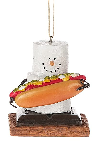 Midwest CBK S'mores with Hotdog Holiday Christmas Ornament - Amazon.com: Midwest CBK S'mores With Hotdog Holiday Christmas