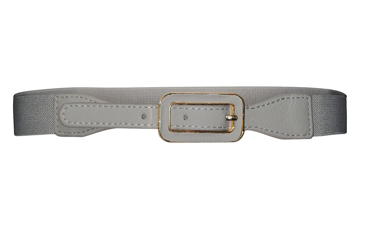 Thin Spandex Belt in Taupe