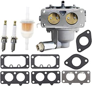 Carbhub 405777 Carburetor for Briggs & Stratton 405777 406777 407777 446677 445577 441777 442577 40G777 40H777 446777 44677A 407677 40F77 20HP 21HP 23HP 24HP 25HP intek V-Twin Engine Carb