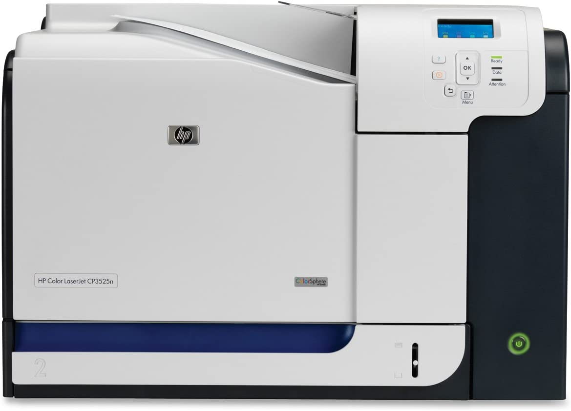 HP CP3525N Color Laserjet Printer