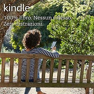 """E-reader Kindle, schermo touch da 6"""" (15,2 cm) anti riflesso, Wi-Fi (Nero) - Con offerte speciali"""