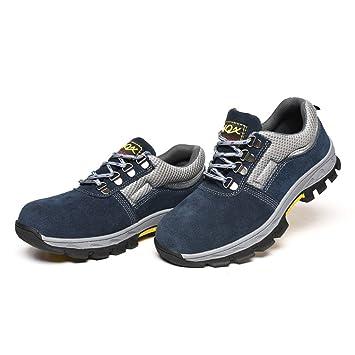 c5f84b665a706 D DOLITY Zapatos de Seguridad para Hombres Botas de Trabajo anti-perforación  de Acero - eu 41 us 8 uk 7.5  Amazon.es  Deportes y aire libre