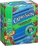 Capri Sun Juice Drink, Strawberry Kiwi, 30 Count
