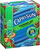 Capri Sun Juice Drink, Strawberry Kiwi, 30 Count
