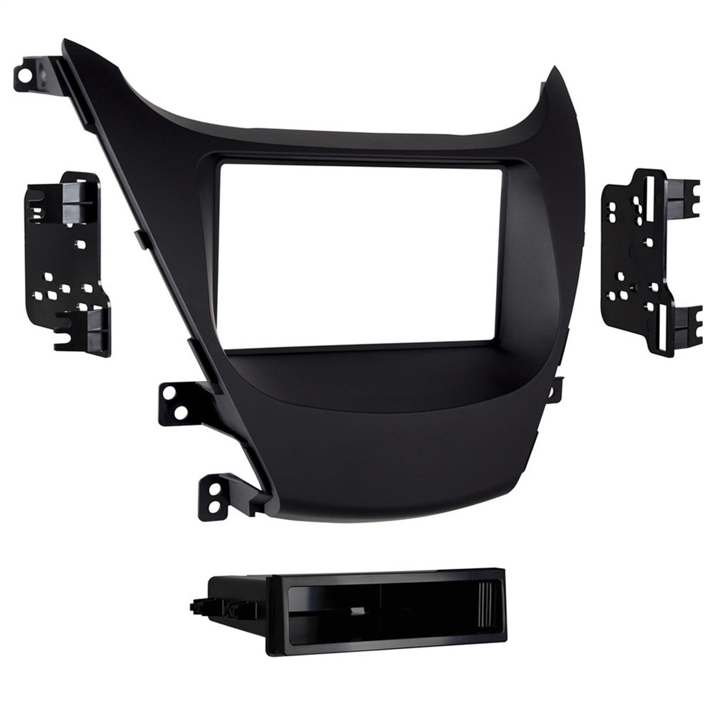 Metra 99-7362B Single DIN Dash Kit for Select 2014 and Hyundai Elantra Vehicles (Black)