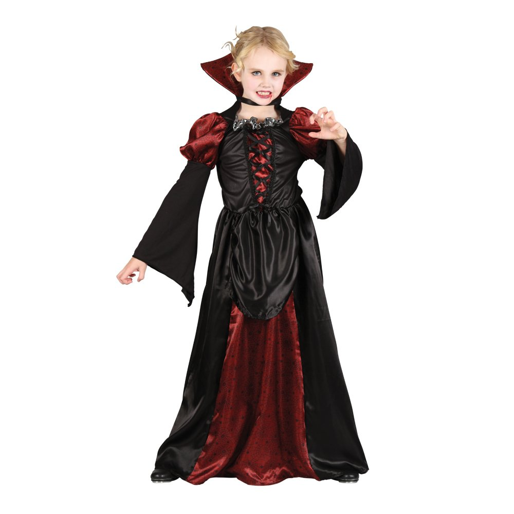 Scary Halloween Costume Ideas For Kids.S Girls Scary Vampiress Halloween Costume For Fancy Dress Childrens Kids Childs