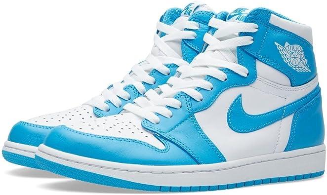 Coche Alfombra Converger  Amazon.com | Jordan Air 1 Retro UNC - 555088 117 | Fashion Sneakers