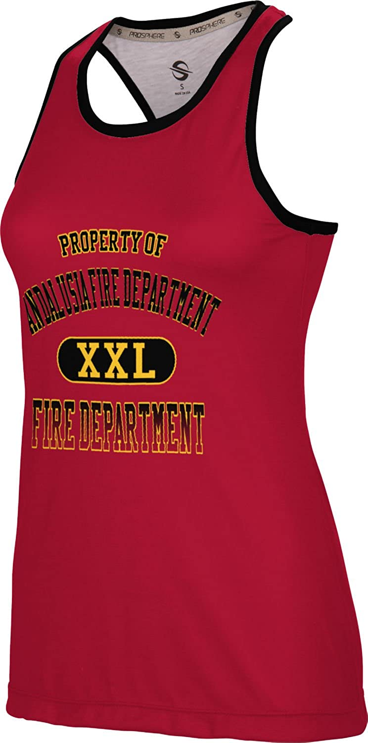 ProSphere Women's Andalusia Fire Department Crisscross Loose Training Tank