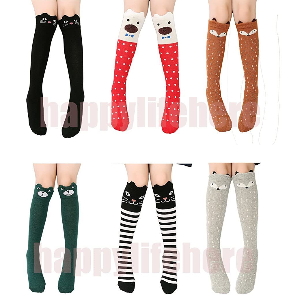 992f933b434 Socks are about 15.7inches. It may be slightly different for different  patterns. Whether it s knee high or not depends on length of legs. Very cute  animal ...
