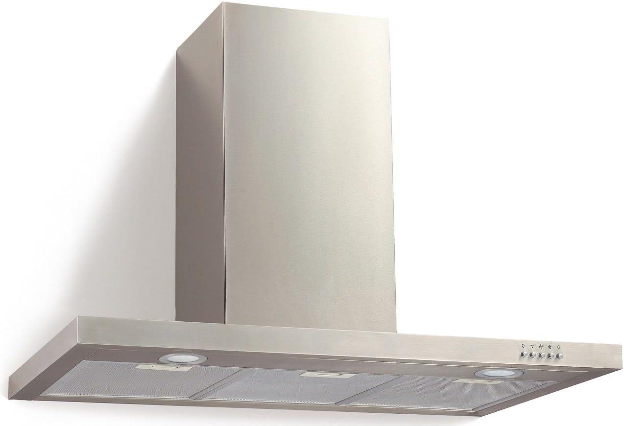Campana PKM extractora de aire + filtro 9004W, 90 cm + carbón activo: Amazon.es: Grandes electrodomésticos