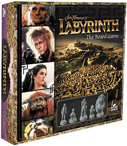 Portada de la caja del juego de mesa inside the labyrinth - juegos de rol