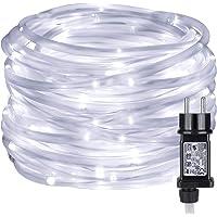 LE Cadena LED de Luces Blanca Fría Exteriores