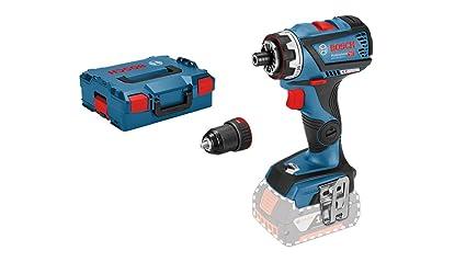 Bosch Professional 06019G7102 Atornillador 90 W, 18 V, Set de 2 Piezas
