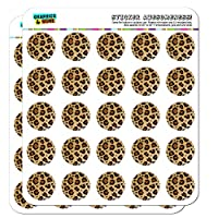 Leopard Print Animal Spots Planner Calendar Scrapbooking Crafting Stickers