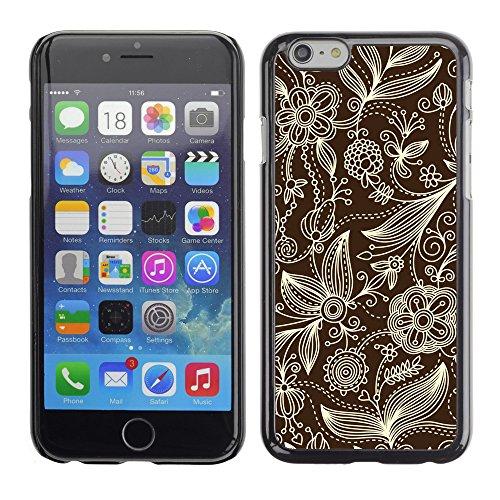 "Premio Sottile Slim Cassa Custodia Case Cover Shell // V00002529 motif floral // Apple iPhone 6 6S 6G 4.7"""