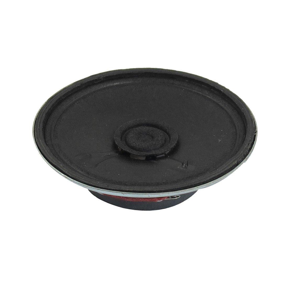 uxcell 57mm Dia Silver Tone Round External Magnet Speaker Loudspeaker 8 Ohm 0.5W