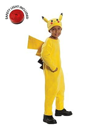 Amazon.com: Kit de disfraz de Pikachu de lujo con luz de ...