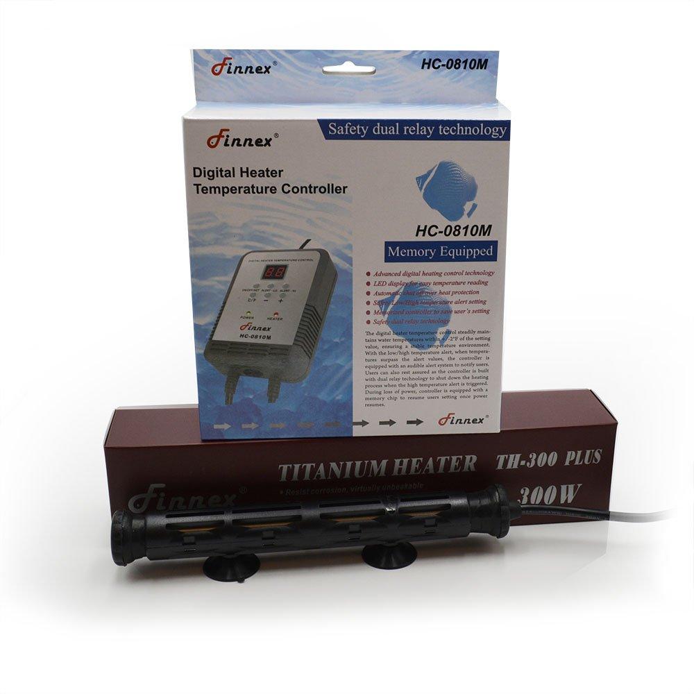 Finnex Digital Heater Controller with Deluxe 300-watt Titanium Tube