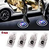 2Pcs Car Door Logo Light Projector for Buick,LED Wireless Ghost Shadow Lights Lamp,Laser Door Welcome Courtesy Puddle Light for Cascada Enclave Envision LaCrosse Verano Accessories for Buick
