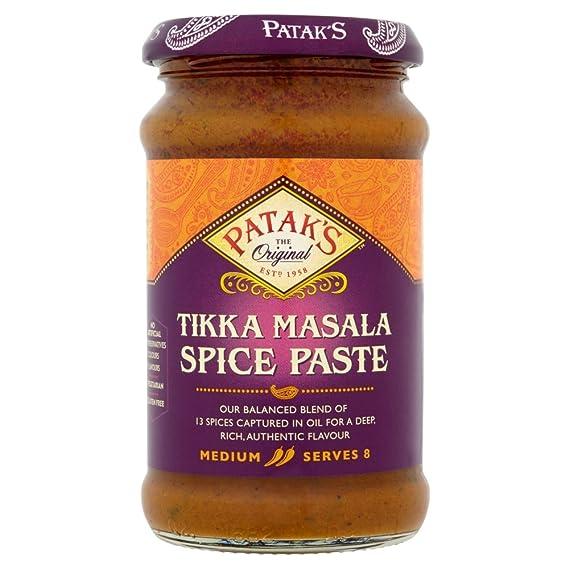 Pataks Tikka Masala, Salsa de curry - 6 de 283 gr. (Total 1698