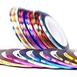 36 pcs 1mm 2mm 3mm Popular Nail Striping Tape