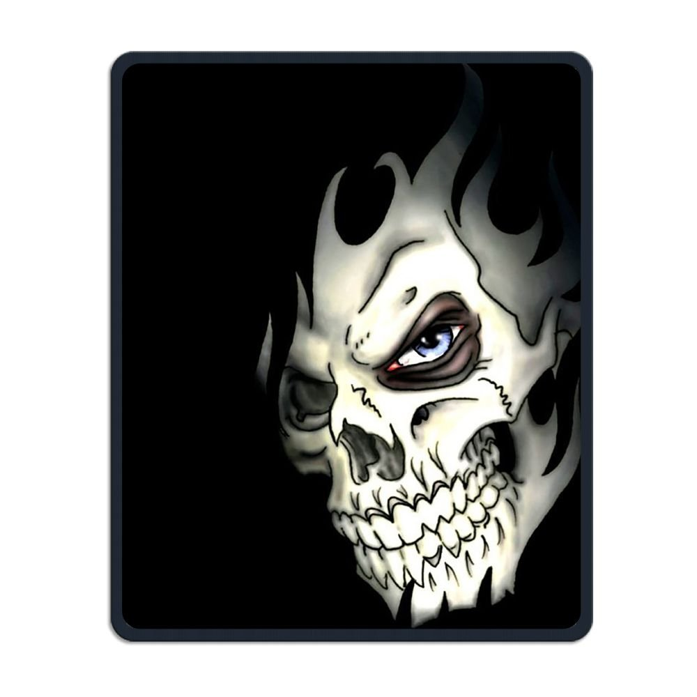 Mouse Pad Galaxy Rectangle Non-Slip Rubber Mousepad Skull Nasty Man Print Gaming Mouse Pad THIS STORE