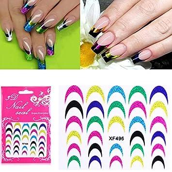 Topquality Beauty Nail Art Sticker Glaze Paper Stickers 3d Diy Nail