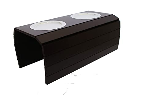 Superb Sofa Arm Tray Table With 2 Cup Holders Elegant Design Lamtechconsult Wood Chair Design Ideas Lamtechconsultcom