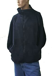 product image for Sovereign Manufacturing Co Men's Big and Tall Full Zipper Arctic Fleece Jacket