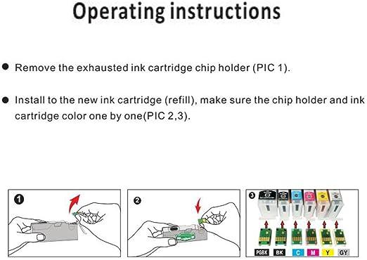 Amazon.com: ColorJoy - Cartucho de tinta para Canon TS9020 ...