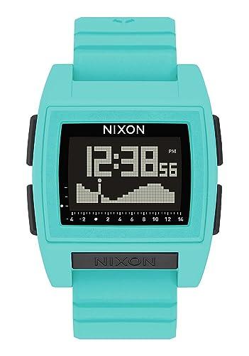 Nixon Reloj Hombre de Digital con Correa en Silicona A1212-272-00: Amazon.es: Relojes