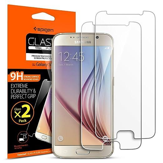 141 opinioni per [Installazione di Easy] Spigen® [2 Pezzi] Pellicola Vetro Temperato Samsung